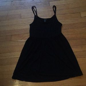 Forever 21 Black Baby Doll Top Size Medium